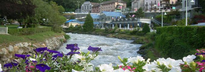 Bides Les Bains en été.
